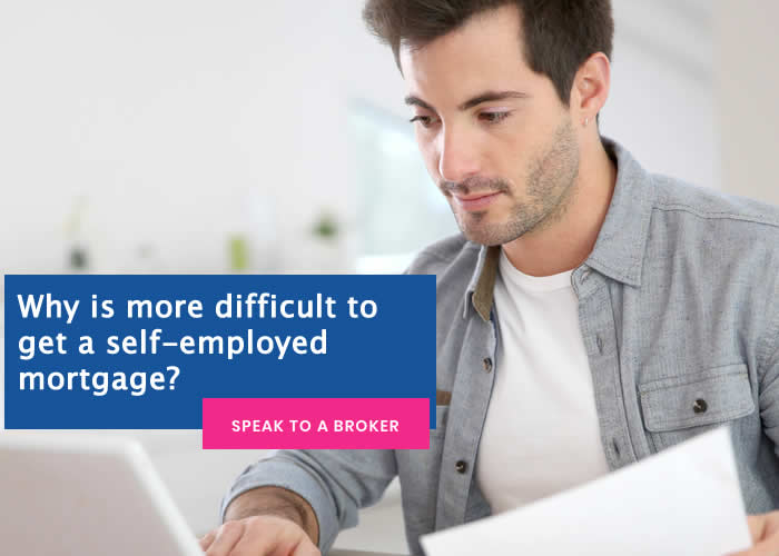difficult to get a self-employed mortgage