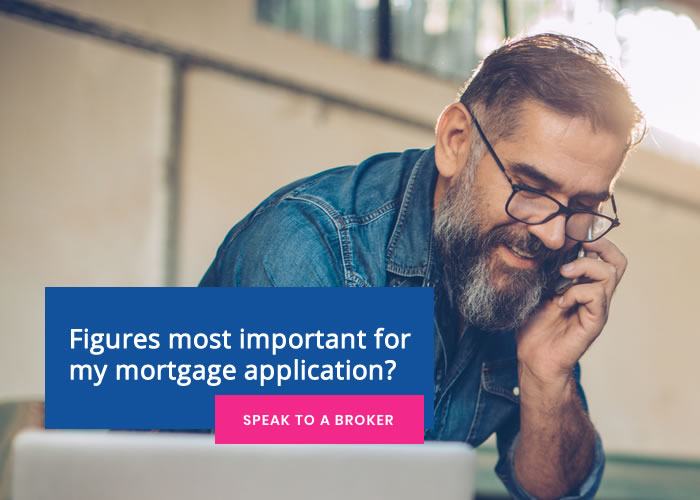 Figures most important for my mortgage application?