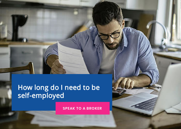 How long do I need to be self-employed