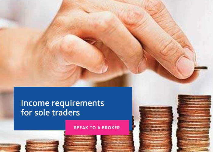 Income requirements for sole traders