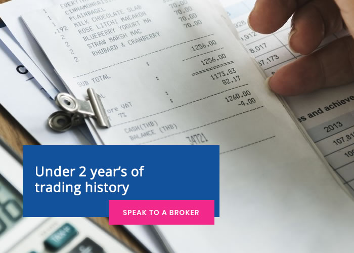 Under 2 year's of trading history