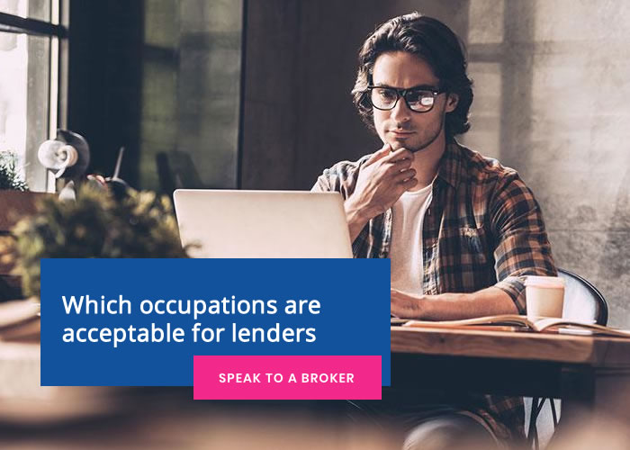 Which occupations are acceptable for lenders