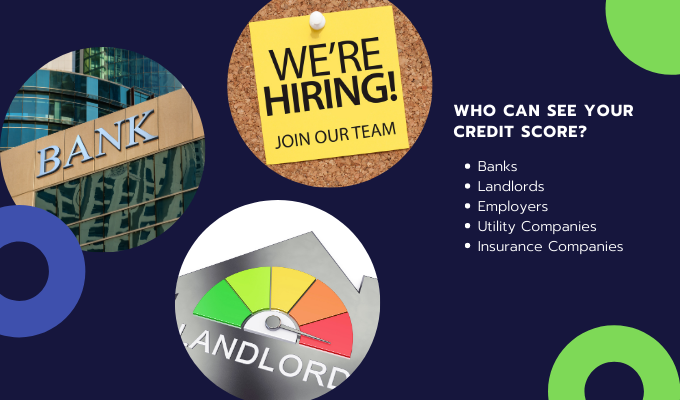 Who can see your credit score?